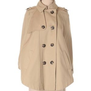 NWOT The Limited Scandal Collection Trench Cape